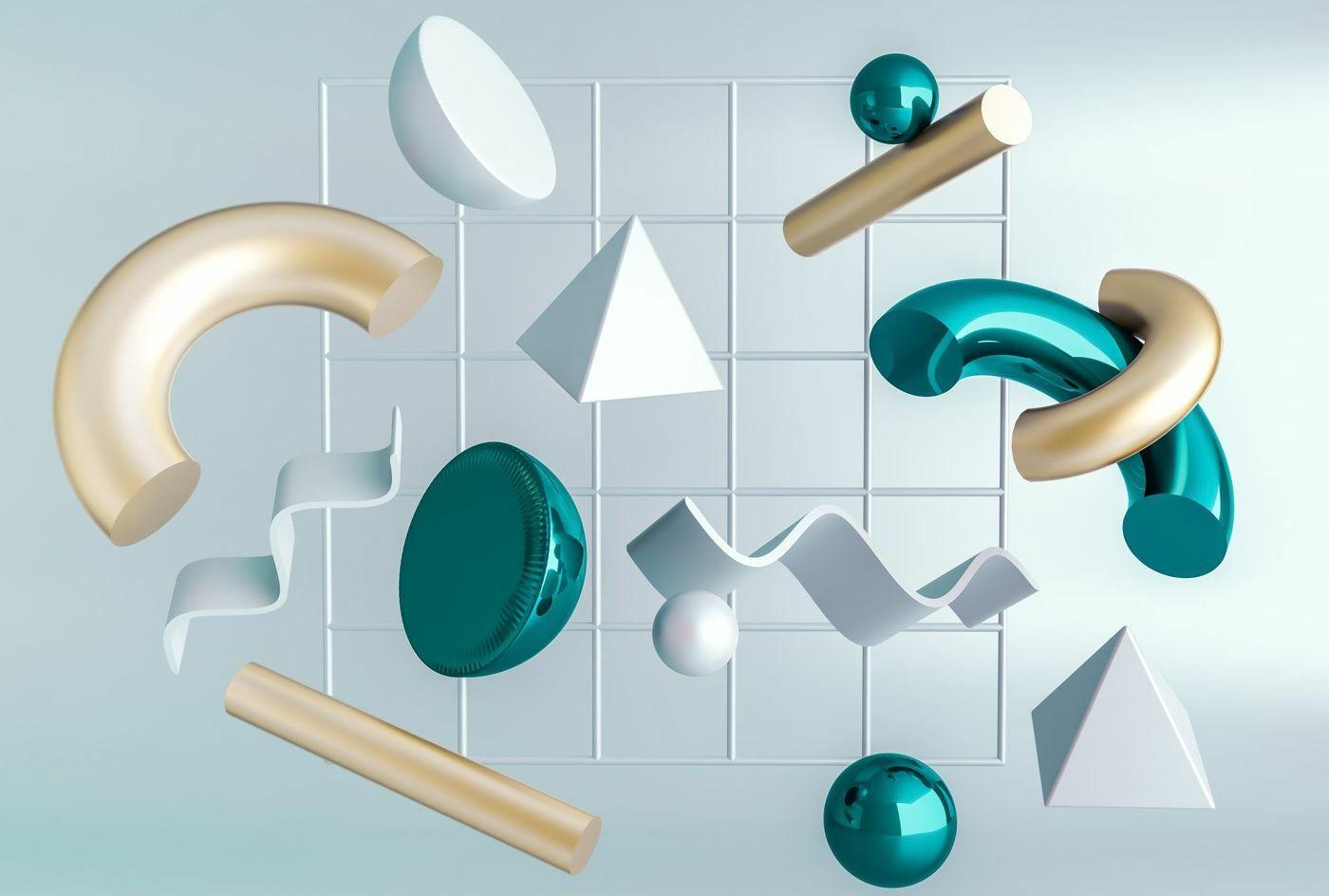 3D elementi boljša uporabniška izkušnja napredek tehnologije trend spletno oblikovanje