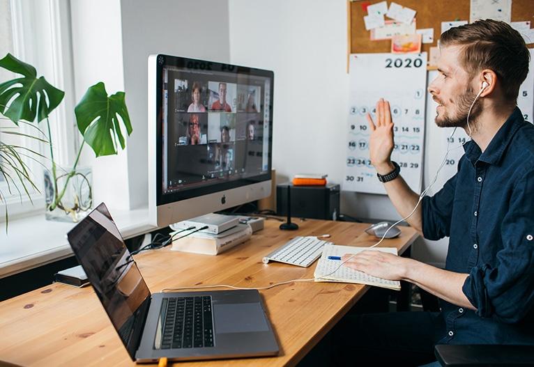 Projektno vodenje video klic sestanek