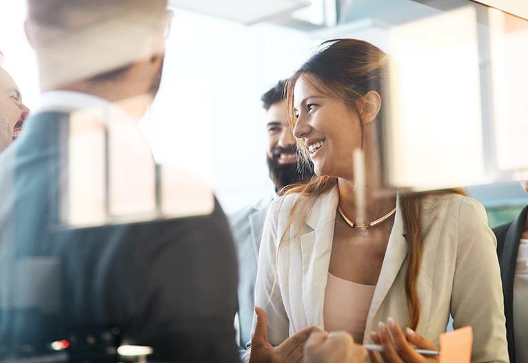 Zgodbe o uspehu priložnost za rast mreženje sodelovanje