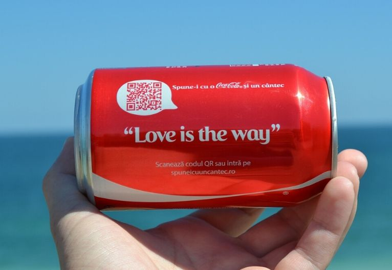 Coca Cola Share a Coke vsebinski marketing