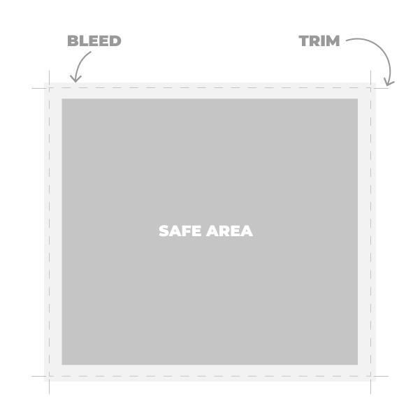 Oblikovanje tiskovin priprava za tisk trim bleed safe area