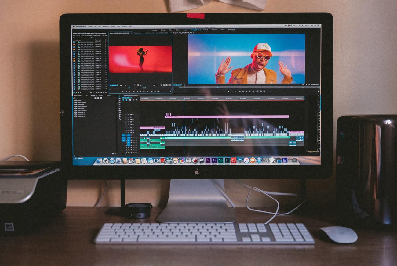 kreiranje videov za potrebe oglaševanja